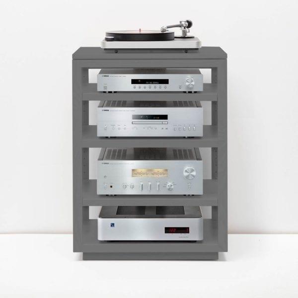 Dovetail Audio Rack Slate Grey